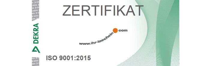 Zertifiziert - Zahnarzt Rinke, Jablonski, Ziebolz & Kollegen, Hanau